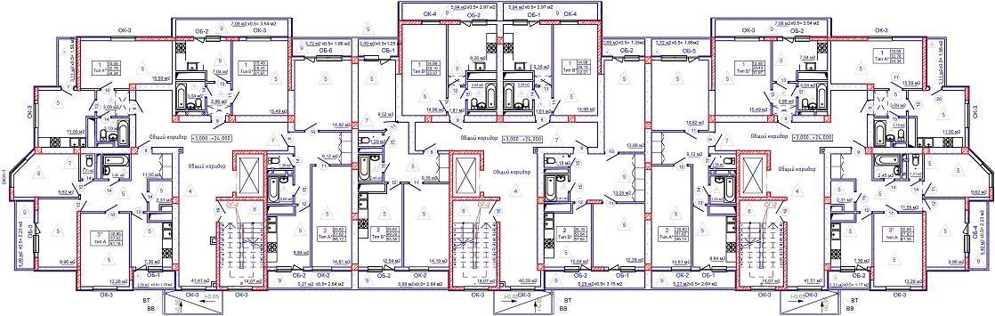 Тип 3 план для сайта-Модель